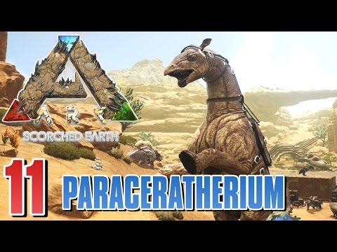 LVL 155 PARACERATHERIUM & ÖL BOHRER - Ark Scorched Earth #11   Ark Survival Evolved [Deutsch/German]