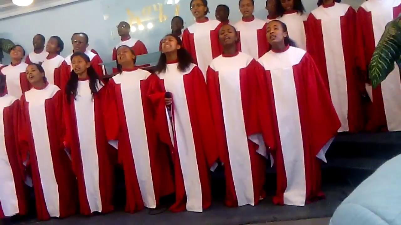 Apostolic church of ethiopia Gerji ch chior , ''Ale bezu melkam neger''Amharic M