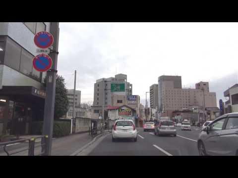 [drive japan]群馬県前橋市 登利平前橋本社-前橋駅付近(Gunma Maebashi)