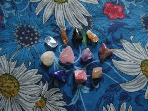 Моя коллекция камней и кристаллов, приобретённая в Магазине Минерал Маркет/MineralMarket