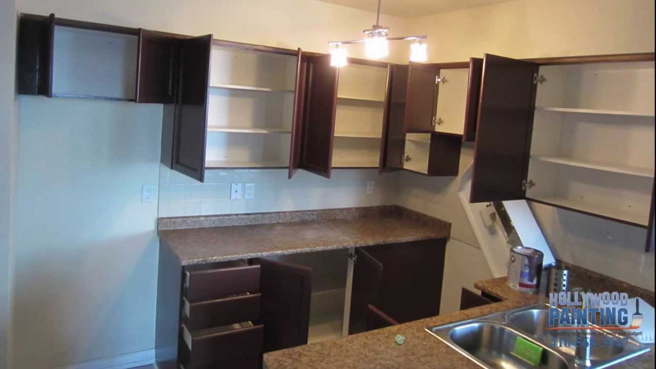 Innovative Set Up The Dark Painted Kitchen Cabinets Design   YouTube