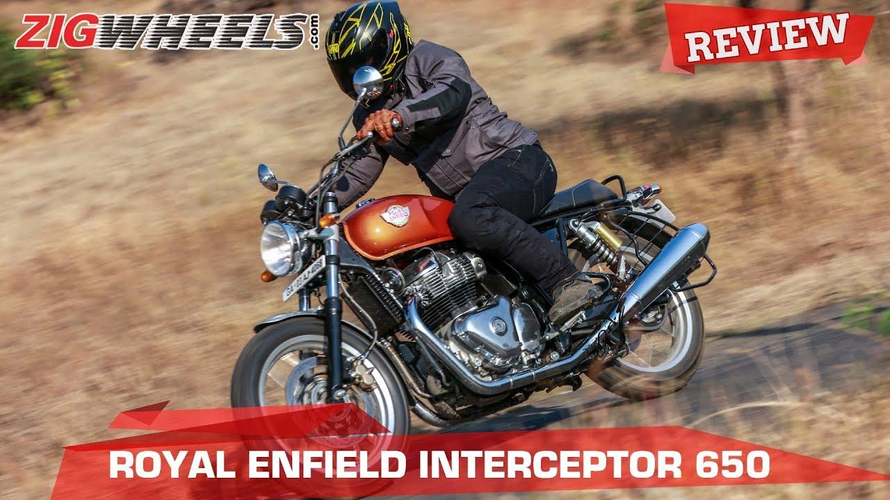 Royal Enfield Interceptor 650 Road Test Review Zigwheels
