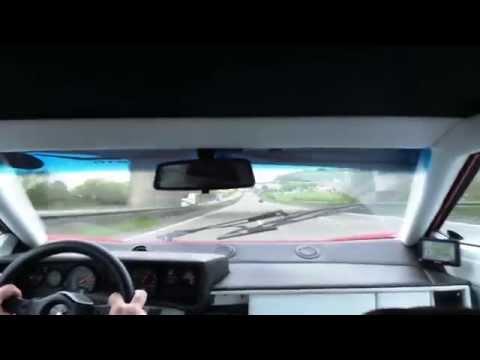 Riding 280km/h in a Lamborghini Countach