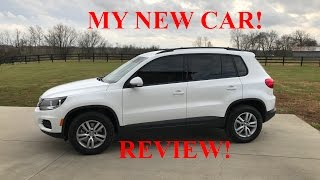 2017 Volkswagen Tiguan 2.0T 4-Motion   Review, Drive and Overview