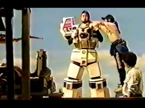 Rare SENTAI  behind-the-scenes video from MMPR director/stun