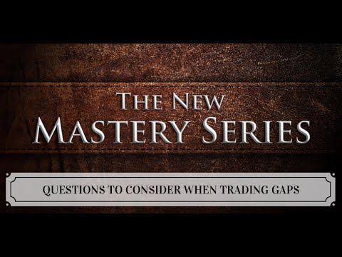 Questions to consider when trading gaps