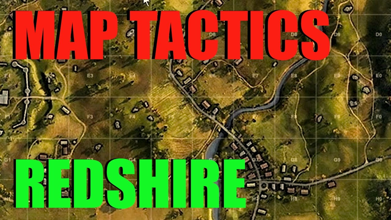 WOT - Map Tactics & Strategy Redshire | World of Tanks with Claus ...
