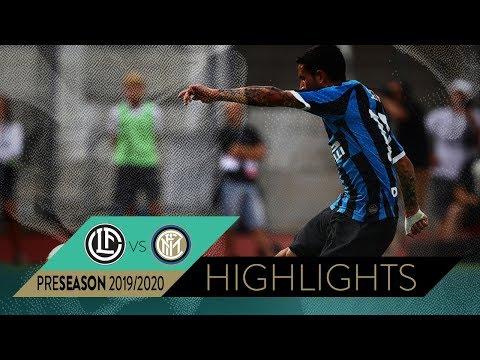LUGANO 1-2 INTER | Highlights | INTER PRE-SEASON 2019/20