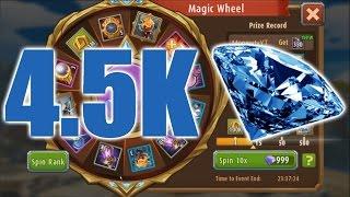 SPENDING DIAMONDS   Magic Rush Heroes - Magic Wheel screenshot 5