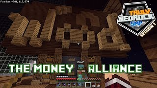 Truly Bedrock s1 e15: The money alliance and some base terraforming