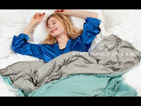 Softan Aqua Weighted Blanket Gift Set
