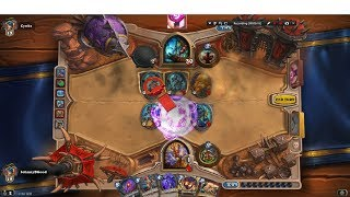 Deal 100 Damage to Enemy Heroes(Hearthstone Gameplay)