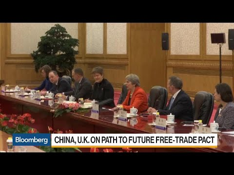 PM May Says U.K. Welcomes Chinese Investment