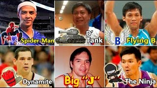 PBA Player Monikers & Nicknames!