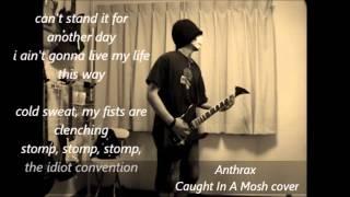 AnthraxのCaught In A Mosh なんですが youtube見ててこの曲が流れてき...