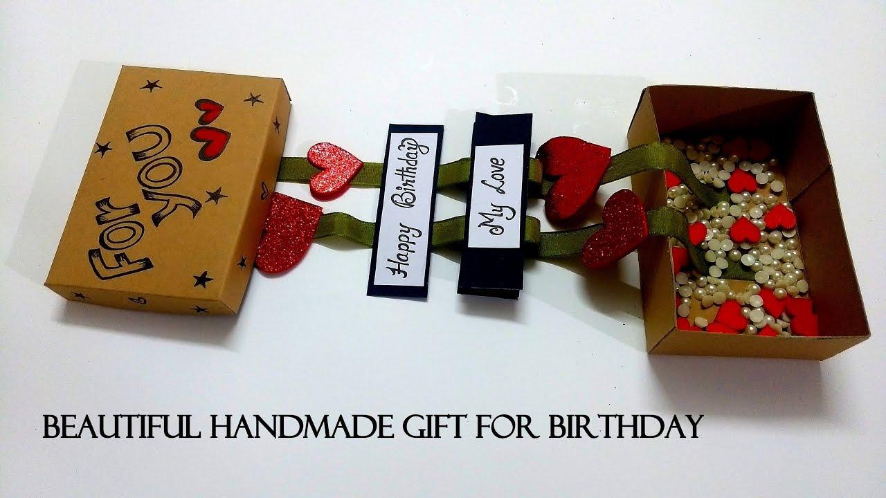 Beautiful Handmade Gift For Birthday Easy Handmade Gift Tutorial