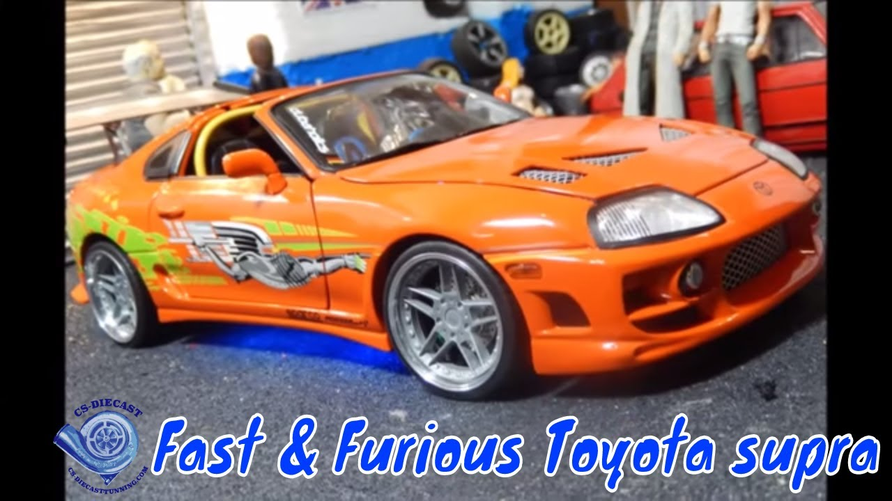 Toyota Supra Price 2015 >> Fast and the Furious 1995 Toyota Supra by ERTL 1/18 scale ...