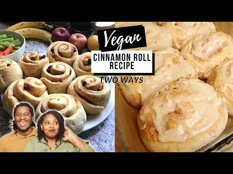 EASY VEGAN CINNAMON ROLL RECIPE + Quarantine Life with our 6 kids!