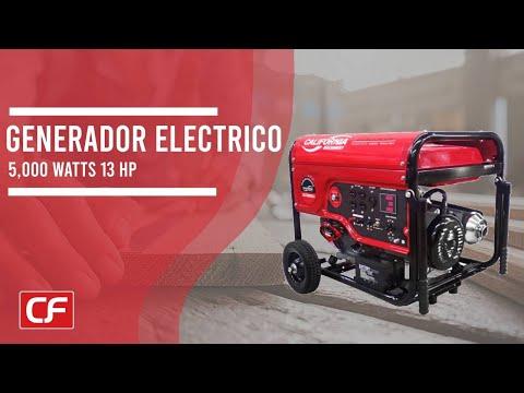 Generador 5,000 KW 13 HP, generador con encendido eléctrico