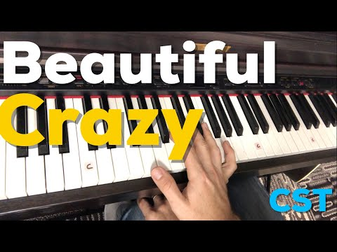 Beautiful Crazy | Luke Combs | Easy Piano Lesson