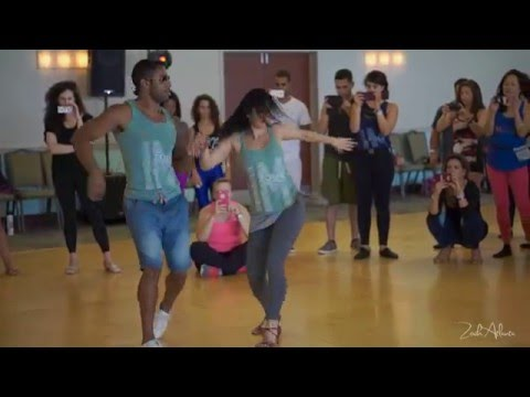 Rodrigo Oira & Karina Carvalho - Cool Moves & ality - Miami Zouk Festival
