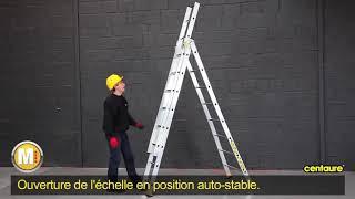ECHELLE TRANSFORMABLE 4,5M 2X7 BARREAUX vidéo