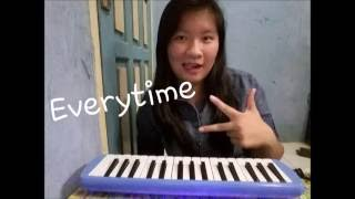 Everytime - Chen (EXO) Ft. Punch (Descendants Of The Sun Ost.) | Pianika Cover Mp3
