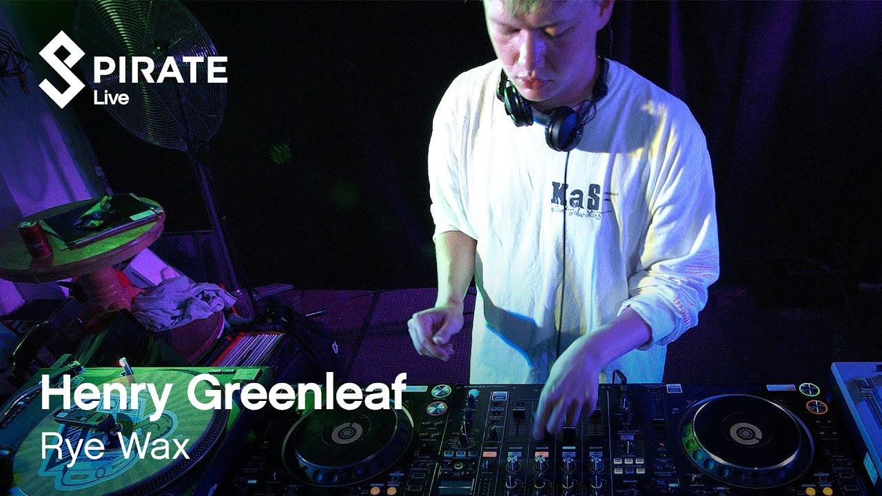 Henry Greenleaf DJ Set | Pirate Live x Par Avion