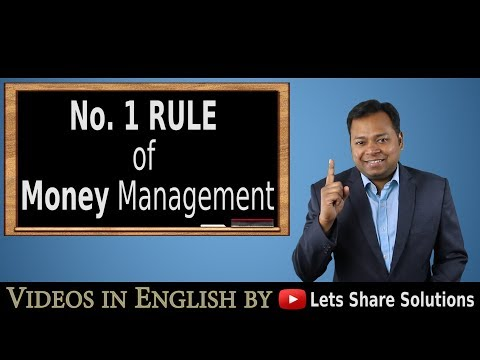 No. 1 Rule of MONEY Management