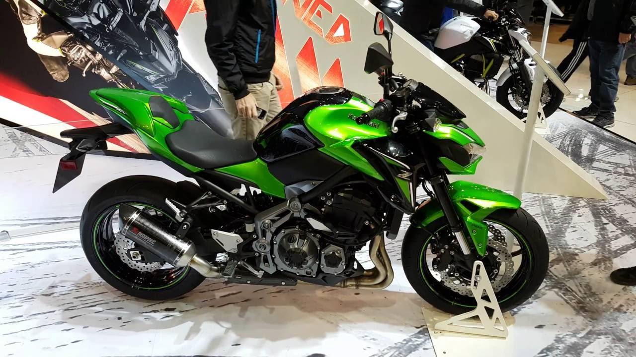 Kawasaki Z900 First Look In 4K