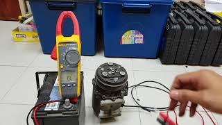 cara menguji magnet clutch compressor kereta