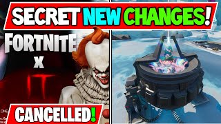 FORTNITE x IT is CANCELLED Explained! + Rift Beacons Activated (Storyline Solved)