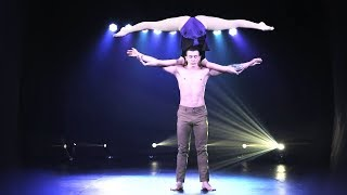 Amazing PARTNER ACROBATIC from Hercules shadow perfomance / Verba shadow theatre