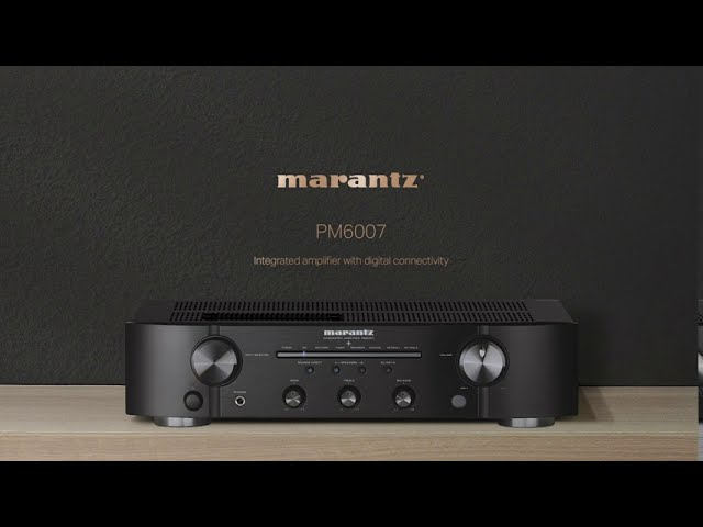 Marantz PM6007 with Digital Connectivity