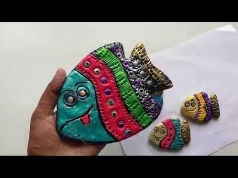 Unique Fish Wall Hanging, Wall Decor Using Shilpkar.Easy Hanging.
