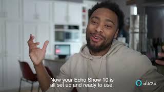 Echo Show 10 Setup and Introduction