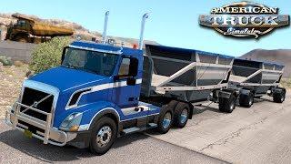 Pierwsza trasa po Utah - American Truck Simulator   (#48)