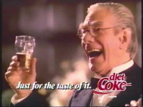 Batman Diet Coke commercial with Alfred