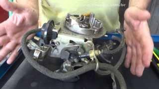 Tonella - carburador solex 2E funcionamento e regulagens 01