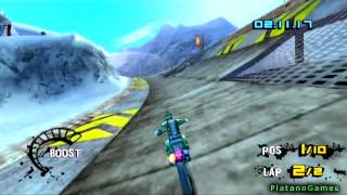 Motorstorm Arctic Edge - Full Bike Race - PlayStation 2 / PSP - HD