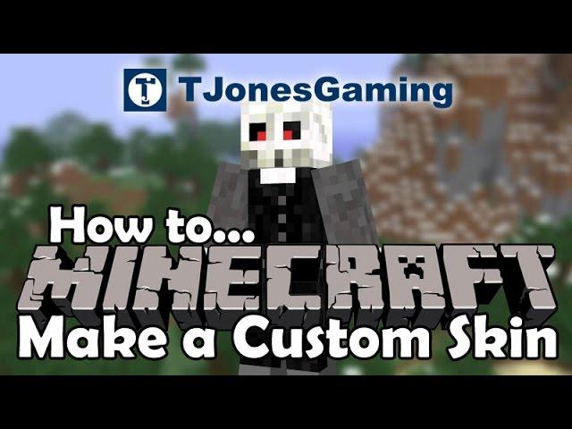 Minecraft How To Make A Custom Skin Using Nova Skin Editor Youtube
