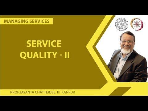 Service Quality II