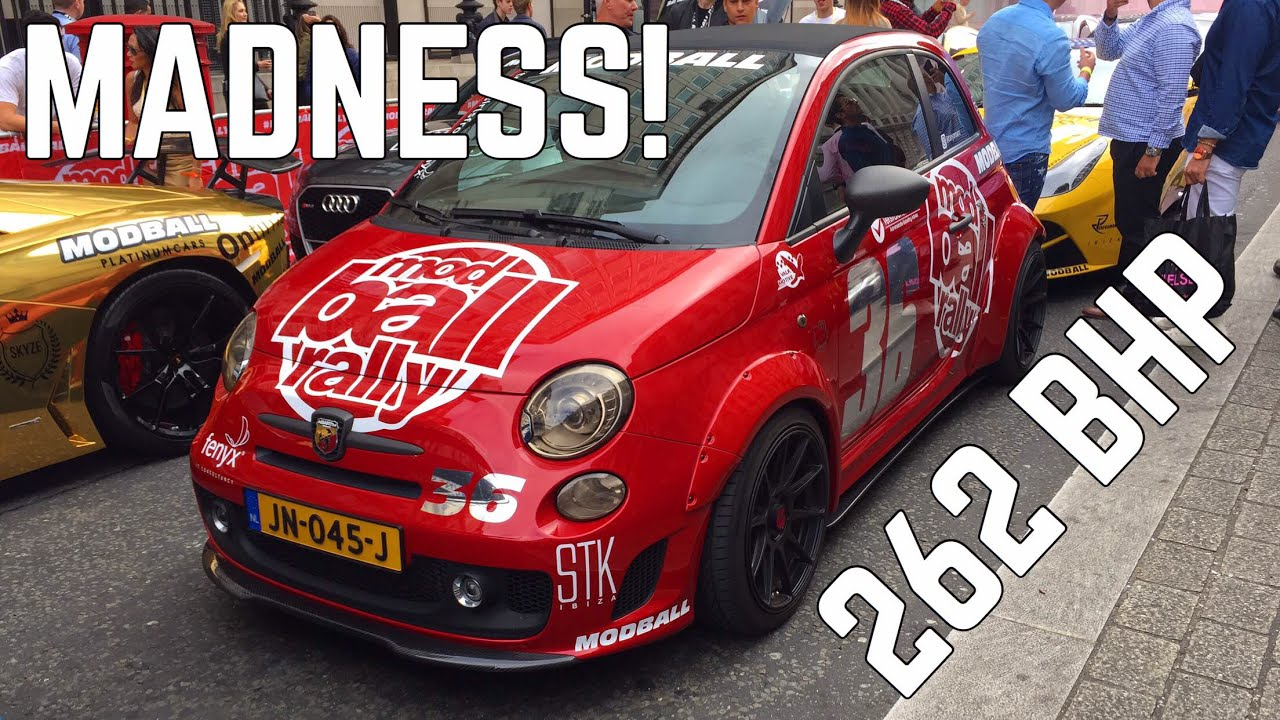 Modball Rally In My 250 BHP Abarth 500?