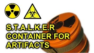 [Airsoft STALKER] How to make container for artifacts / [СТАЛКЕР] Контейнер для артефактов(, 2016-11-06T08:31:59.000Z)