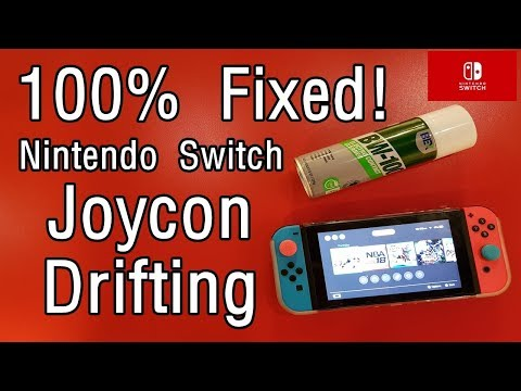 (100% Solution) FIX Nintendo Switch Joycon from drifting moving by itself