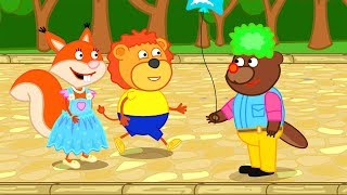 Lion Family How to spend your Vacation Cartoon for Kids