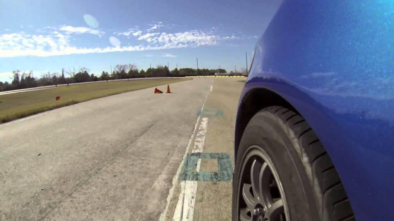 Honda Fit Autocross Houston Bmw Cca 1 26 2014 Youtube