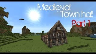 minecraft medieval town hall tutorial wso