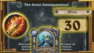 Hearthstone: Mage Is Broken In This Tavern Brawl | The Great Amalgamation | Saviors Of Uldum