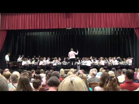 Poquoson middle school spring concert